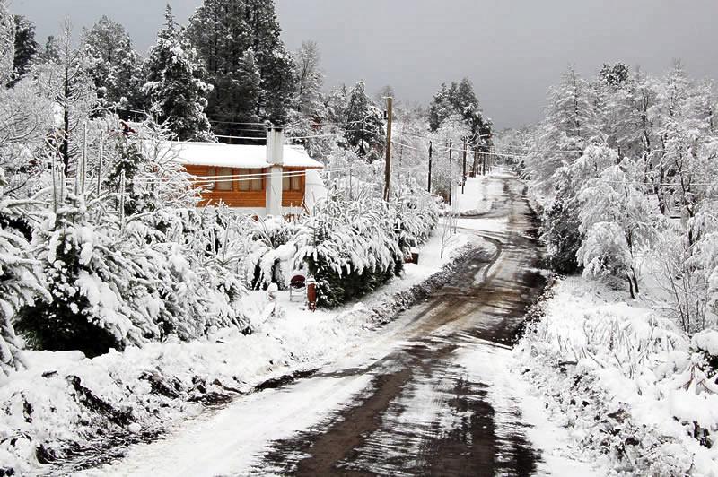 Invierno en Villa la Angostura
