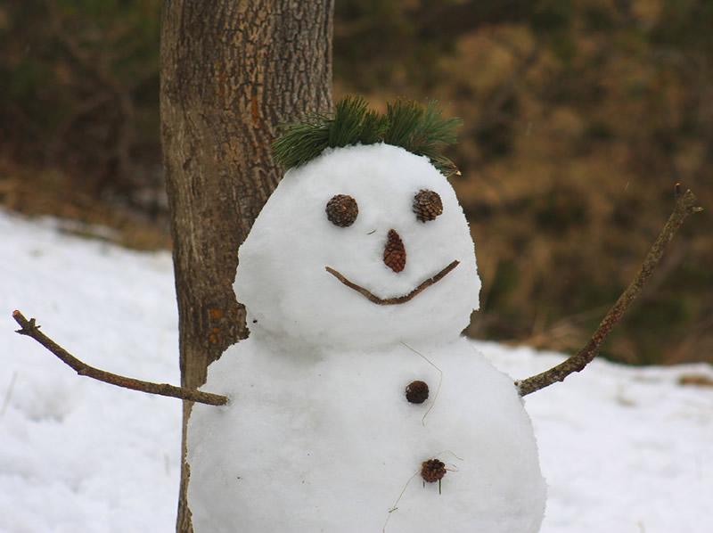 Hacer Muñecos de Nieve